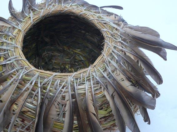 Mistle thrush basket