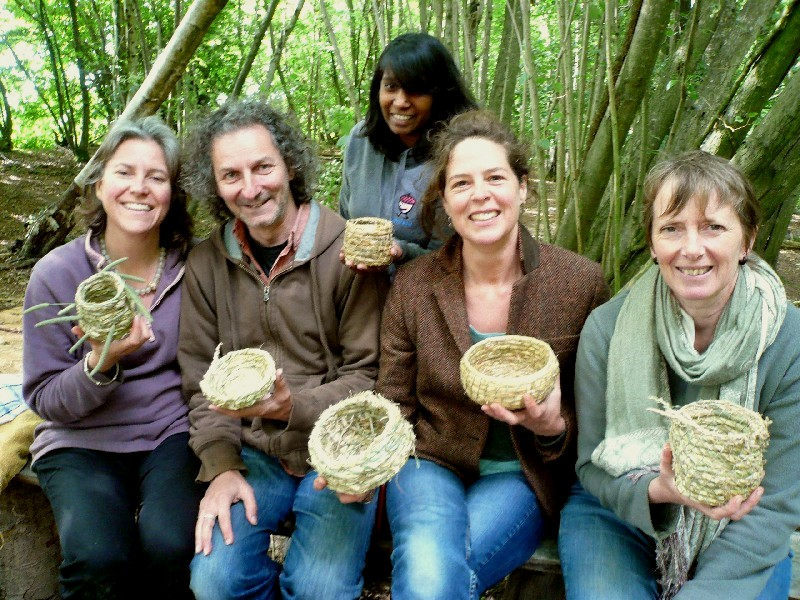 pottery and basketry courses Sussex