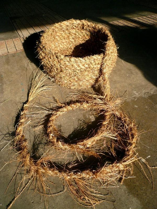 hay grass basket