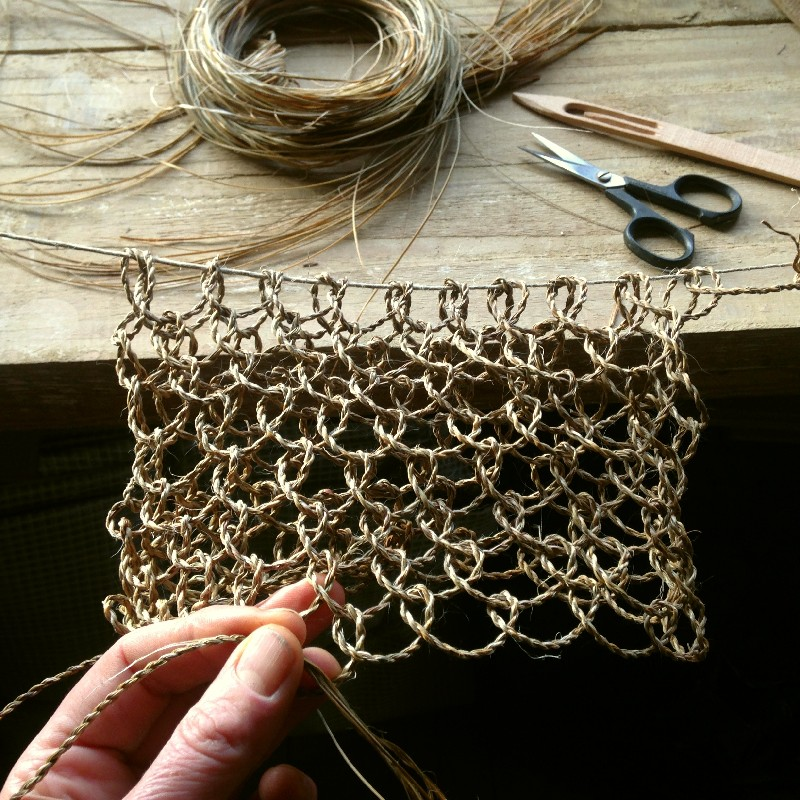 cordage looped netting