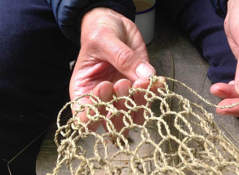 natural cordage netted bag course sussex