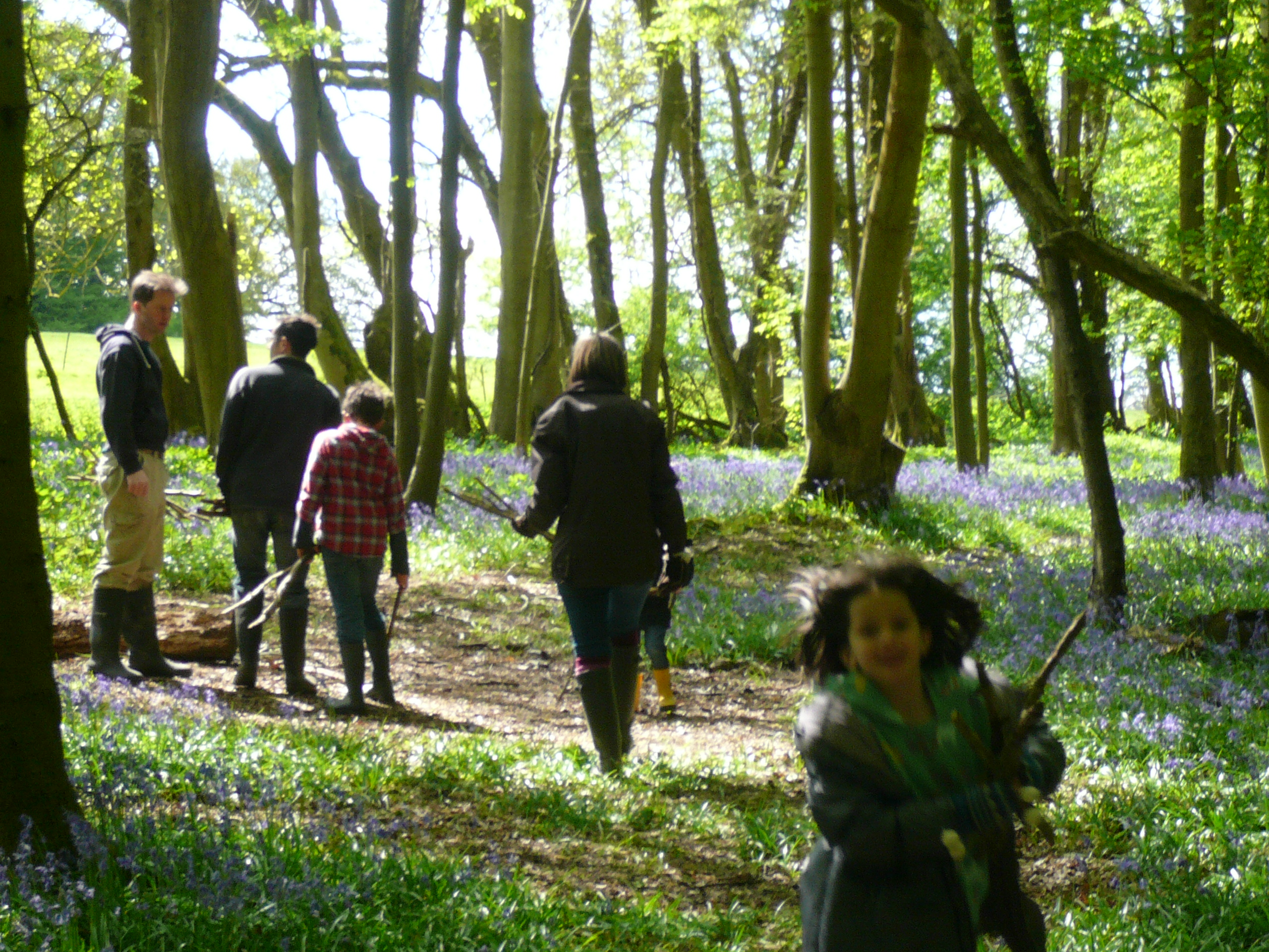 family wild pottery course sussex