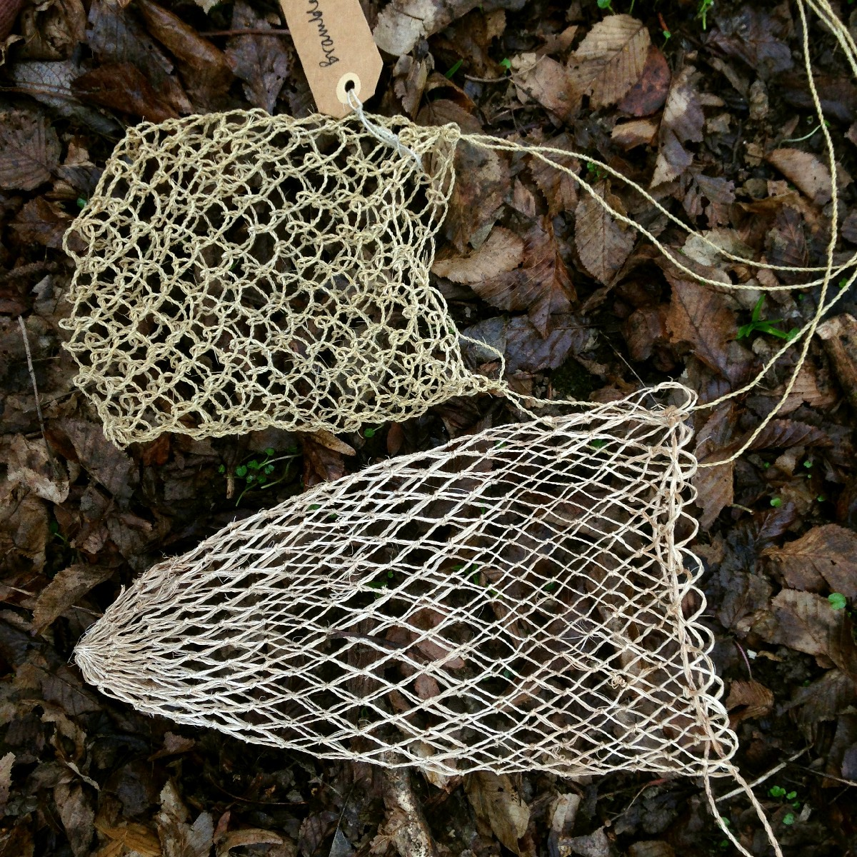 netted bags cordage course sussex