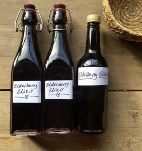 elderberry elixir recipe
