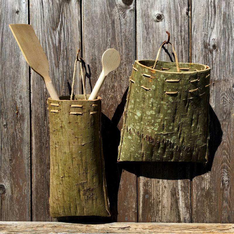 bark baskets