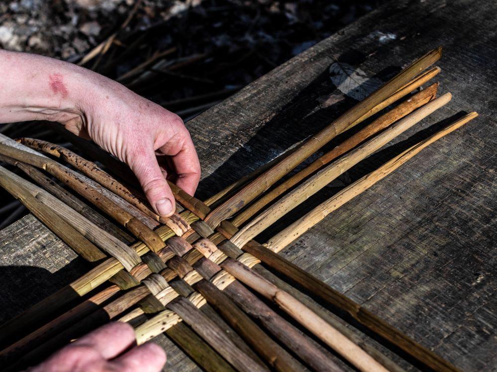 rush weaving